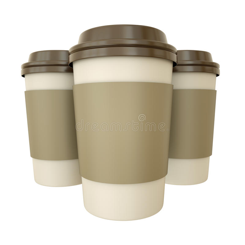 Download Coffee Cups Royalty Free Stock Photography - Image: 18790137