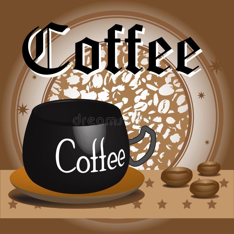 Download Coffee design stock vector. Image of espresso, beverage - 23641995