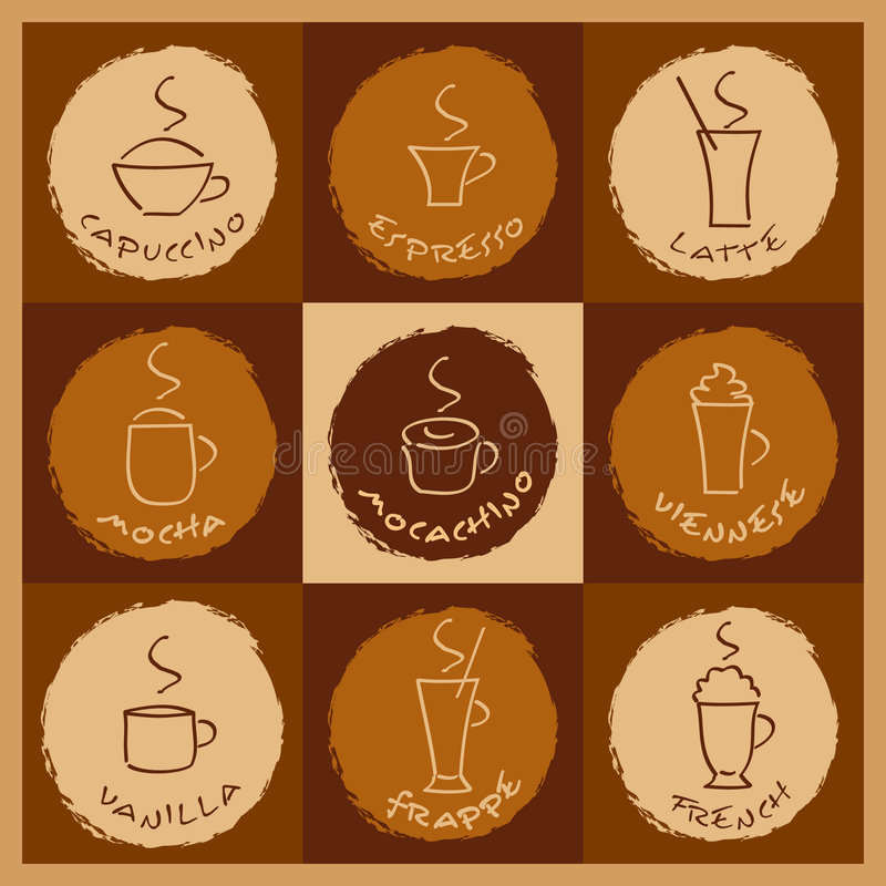 Download Coffee Drinks Stock Photography - Image: 7644362