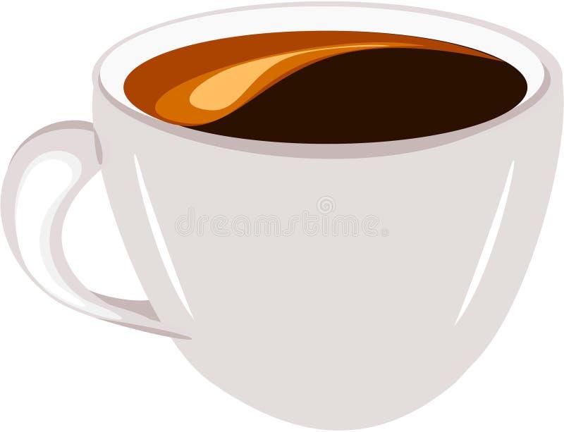 Download Coffee espresso stock vector. Image of cream, brown, dark - 13925767