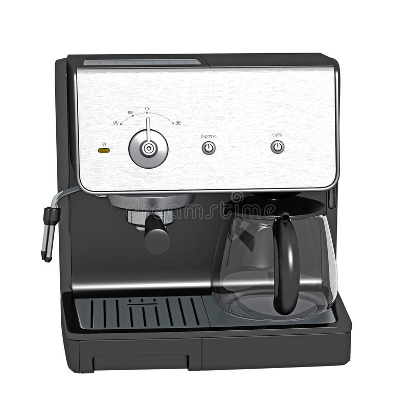 Download Coffee And Espresso Machine Stock Illustration - Image: 16571732