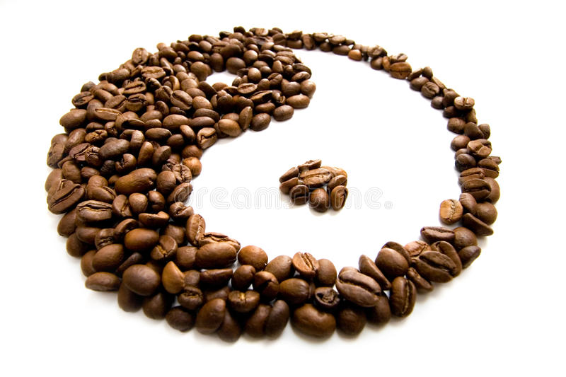 Download Coffee feng shui stock photo. Image of symbol, roasted - 15288856
