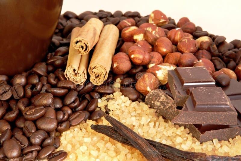Coffee Flavors stock photo