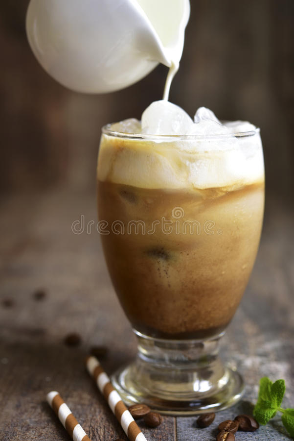 Coffee frappe. royalty free stock image