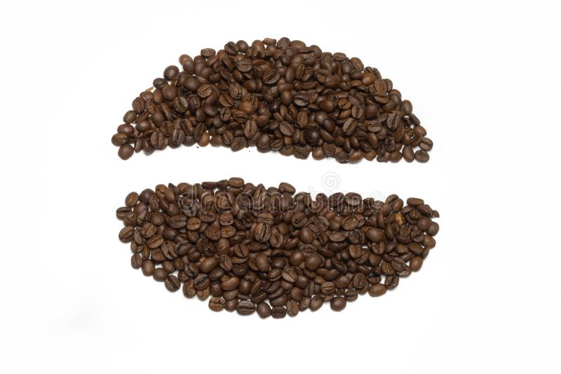 coffee grain stock photo