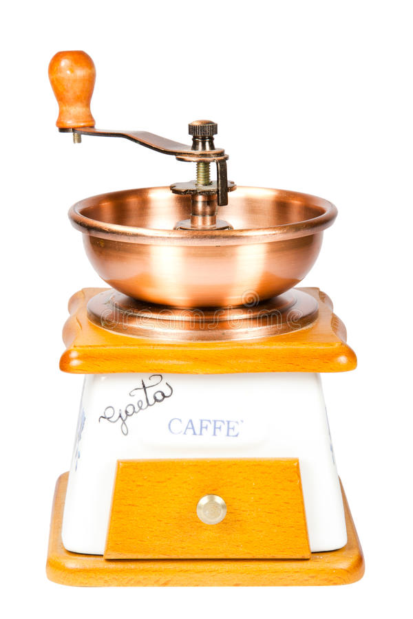 Download Coffee grinder stock image. Image of view, image, background - 16668091