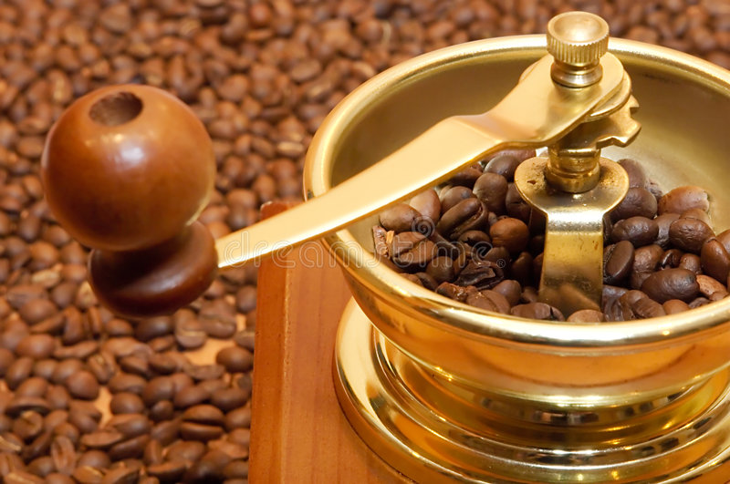 Download Coffee-grinder stock photo. Image of handle, food, cappuccino - 2304396
