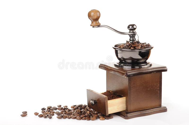 Download Coffee grinder stock photo. Image of retro, wood, gourmet - 23926136