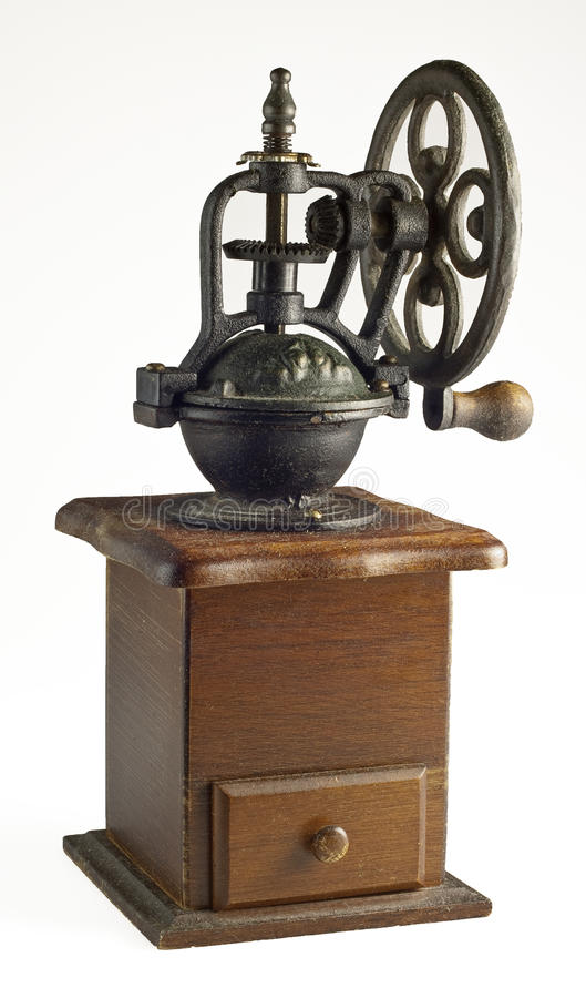 Download Coffee grinder stock photo. Image of cafe, antiquity - 24298896
