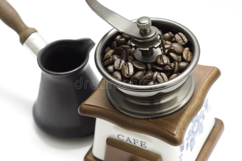 Download Coffee grinder stock photo. Image of coffee, morning, aroma - 3991444