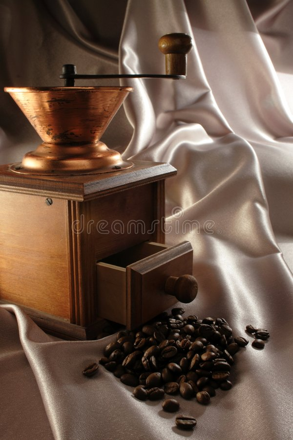 Download Coffee Grinder And Coffee Bean Stock Photo - Image: 1706586