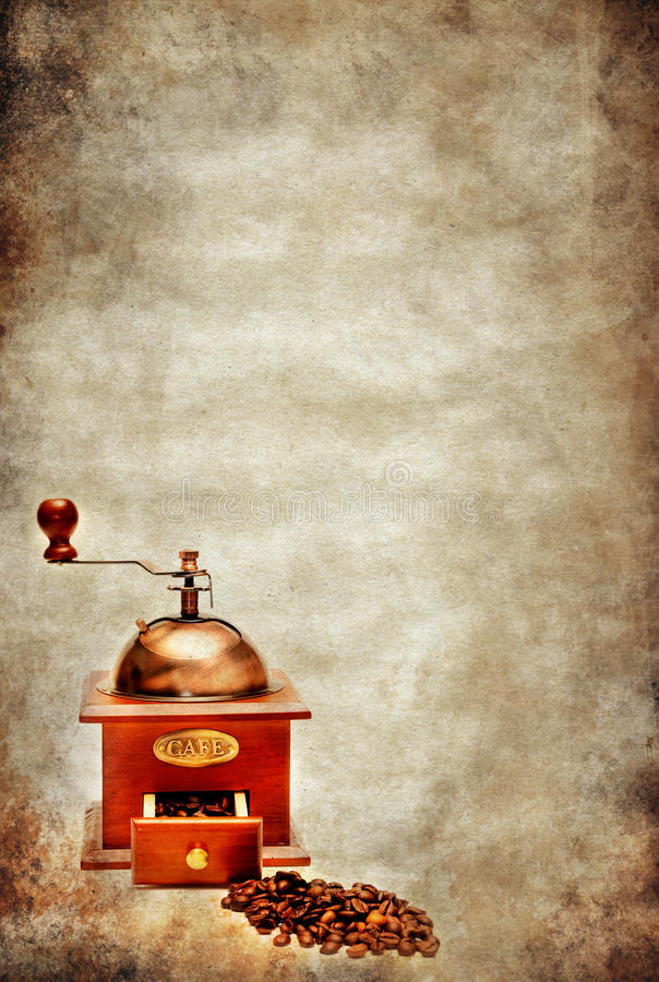 Download Coffee grunge background stock illustration. Image of grunge - 17790598