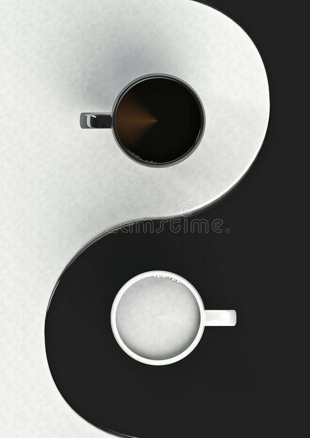 Coffee Harmony Stock Photos