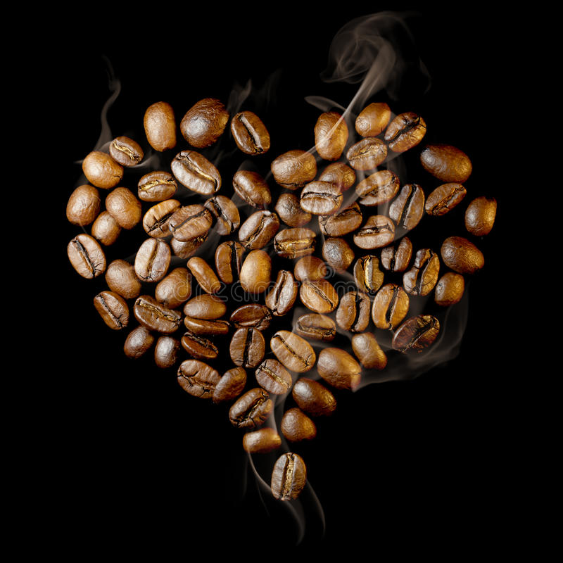 Download Coffee heart stock photo. Image of coffee, scent, stimulant - 17809696