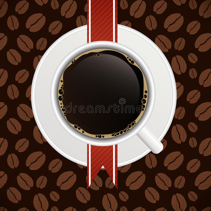 Coffee House Menu Template Vector Illustration Royalty Free Stock Photo