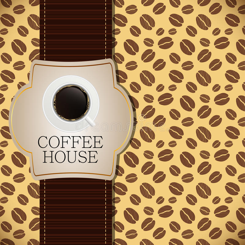 Download Coffee House Menu Template Vector Illustration Royalty Free Stock Photography - Image: 29285217
