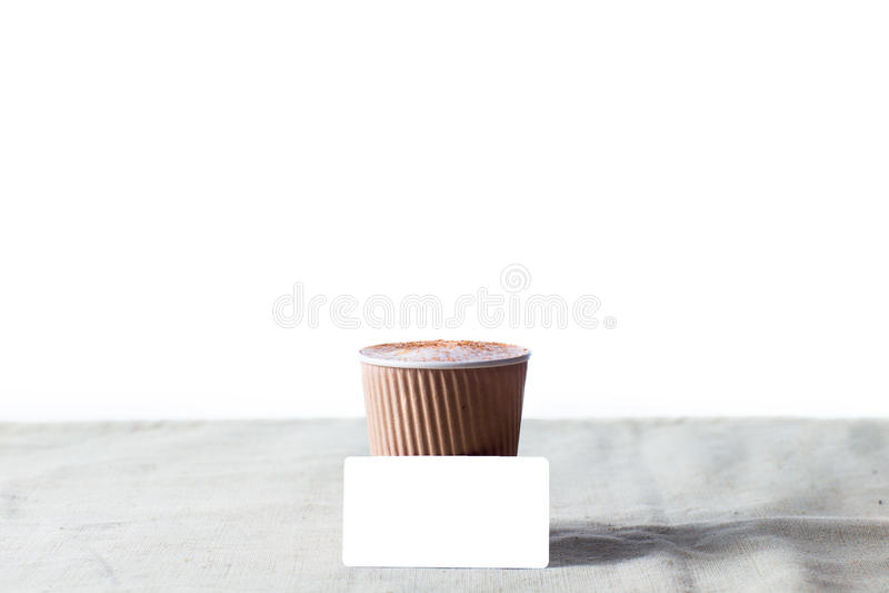 Coffee identity branding mockup set royalty free stock photography