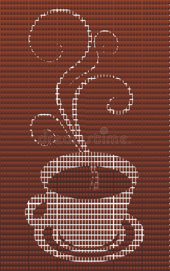 Download Coffee illustration stock vector. Illustration of vapor - 10173840