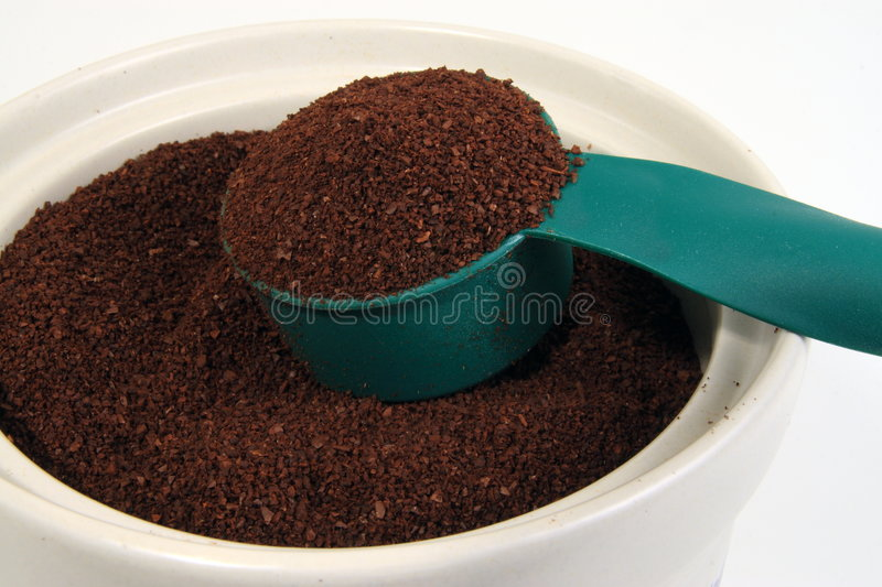 Coffee Jar stock image