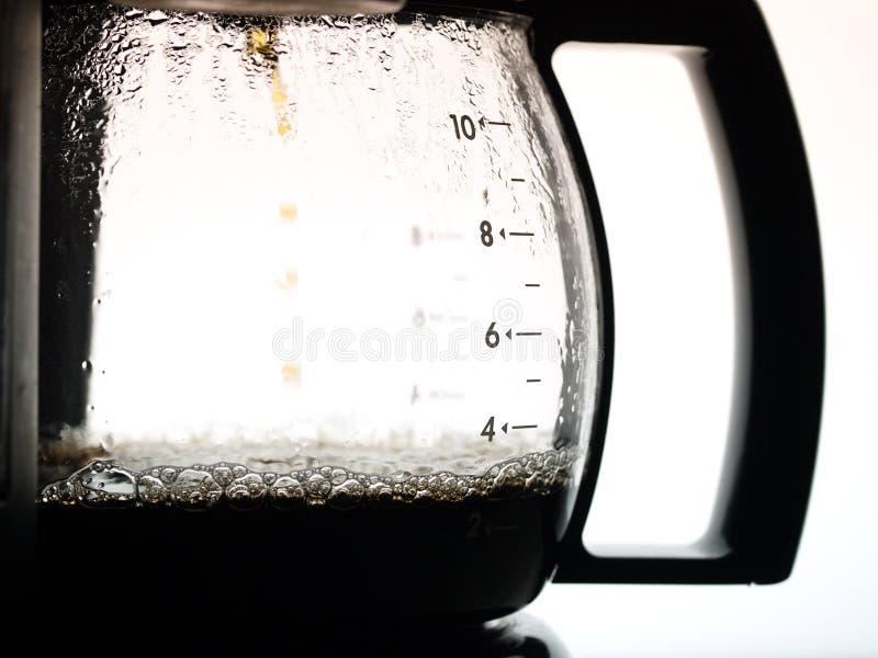 Coffee jug royalty free stock photo