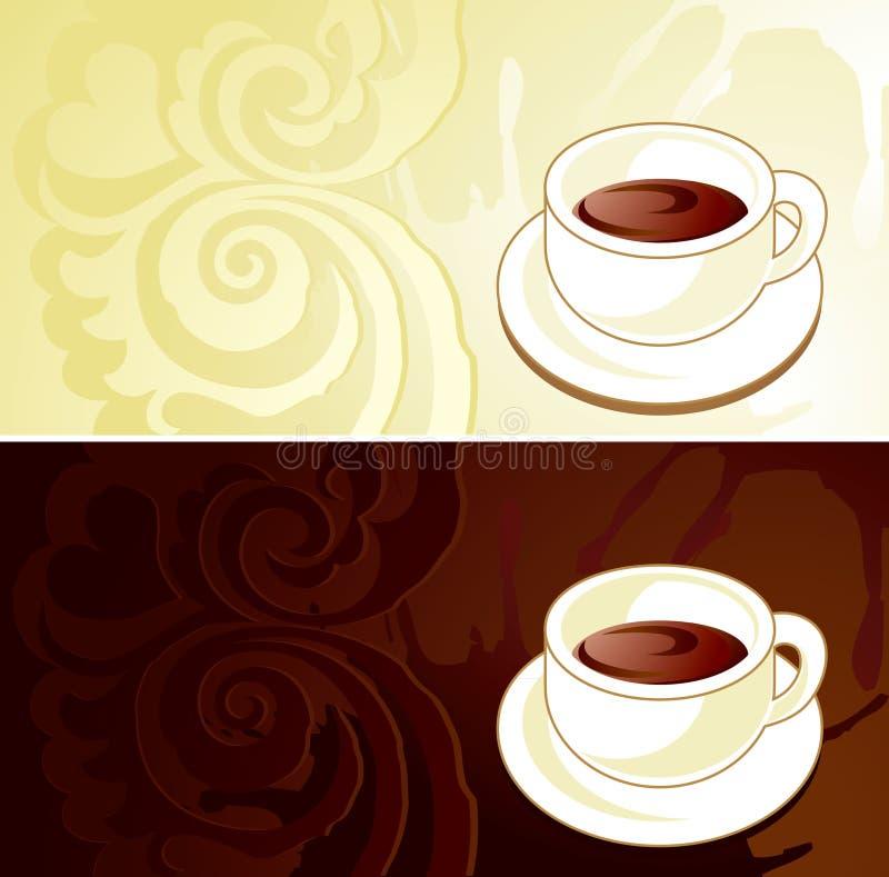 Download Coffee label stock vector. Illustration of beige, breakfast - 16610839