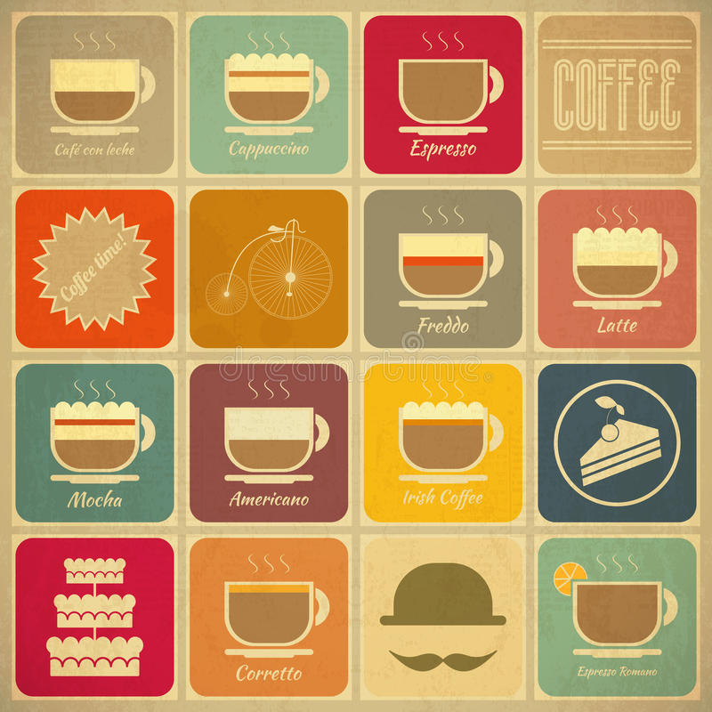 Download Coffee Labels Stock Photo - Image: 32288750