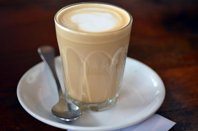 Coffee latte royalty free stock photos