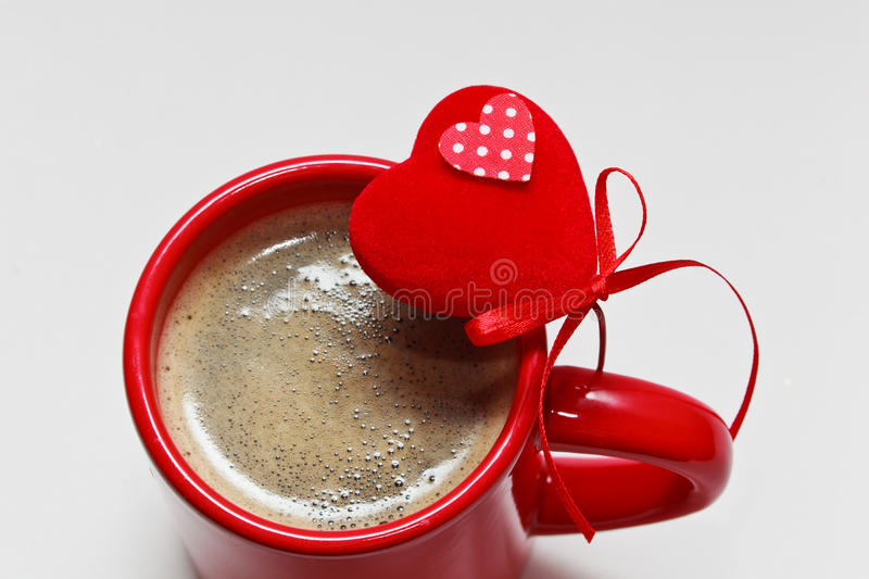 Coffee With Love Stock Photo. Image Of Above, Fresh
