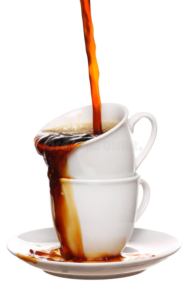 Coffee lovers royalty free stock image