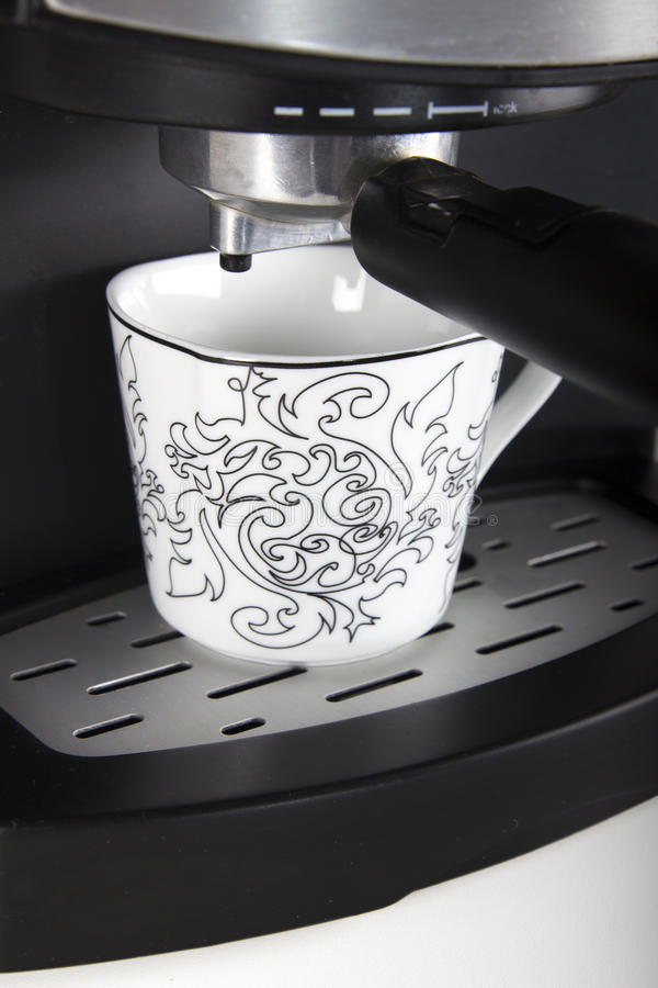 Download Coffee-machine stock photo. Image of kitchen, saucer - 29434244