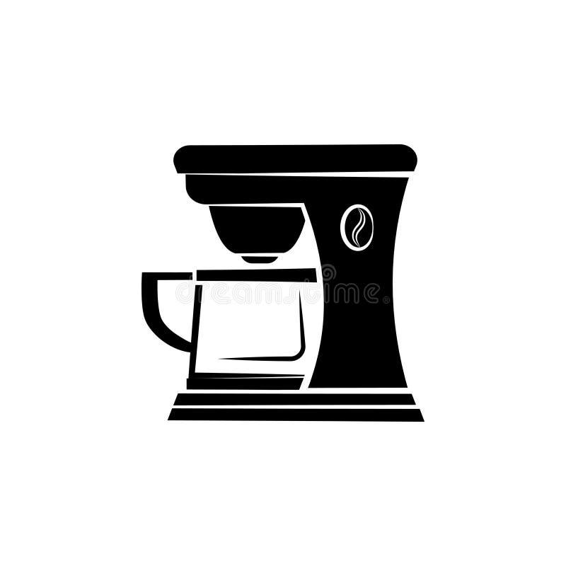 Coffee maker icon symbol. Sign royalty free illustration