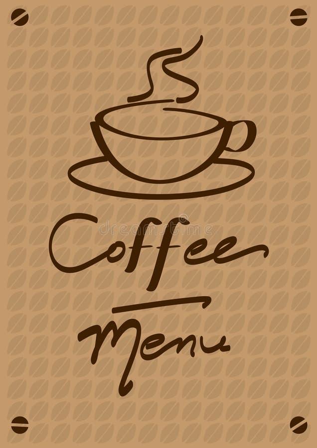 Download Coffee menu stock vector. Illustration of catalogue, smoke - 15257711