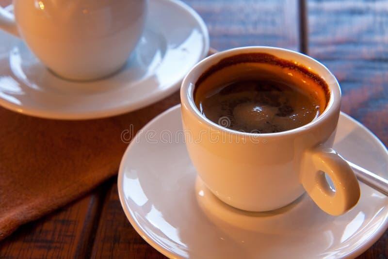 Coffee and milk stock photo