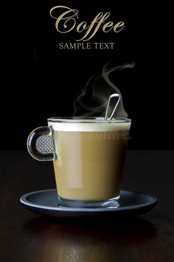 Coffee with milk royalty free stock image