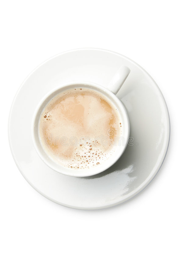 Coffee With Milk Stock Images