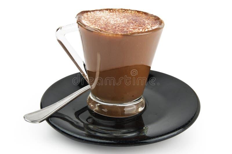 Coffee milk cream and chocolate royalty free stock image