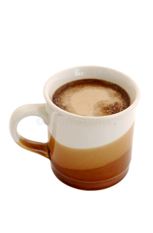 Coffee with milk scream