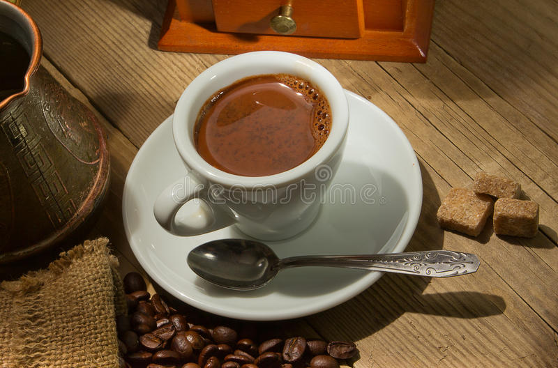 Download Coffee mill stock photo. Image of coffee, drink, food - 24073940