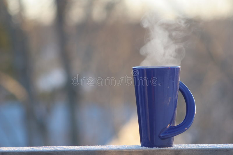 Download Coffee in the Morning stock photo. Image of cobalt, morning - 615228