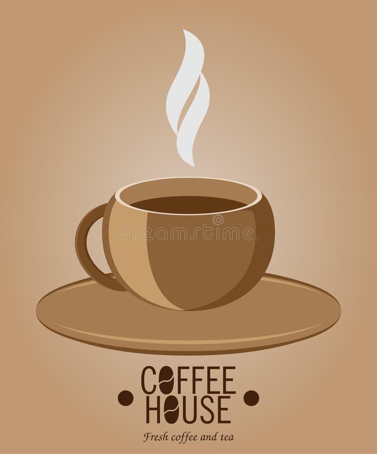 Coffee mug. Espresso. Vector illustration. Coffee mug Espresso Vector illustration royalty free illustration