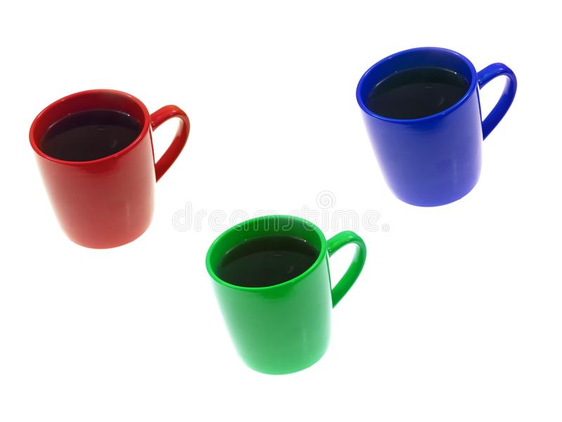 Download Coffee Mugs stock photo. Image of nobody, object, bright - 25397510