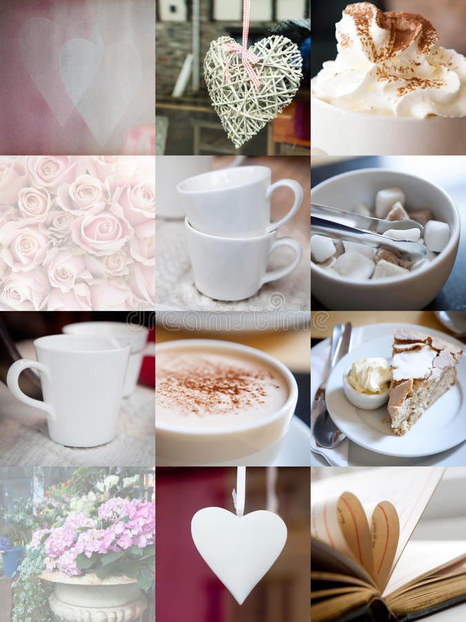 Download Coffee In My Heart. Stock Photo - Image: 19729860