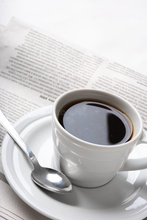 Coffee, news stock photography