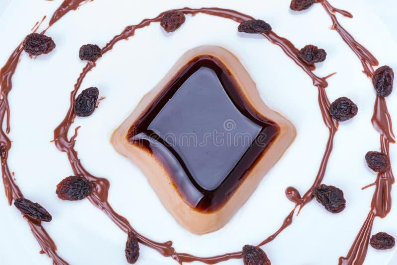 Download Coffee panna cotta dessert stock image. Image of espresso - 38188535