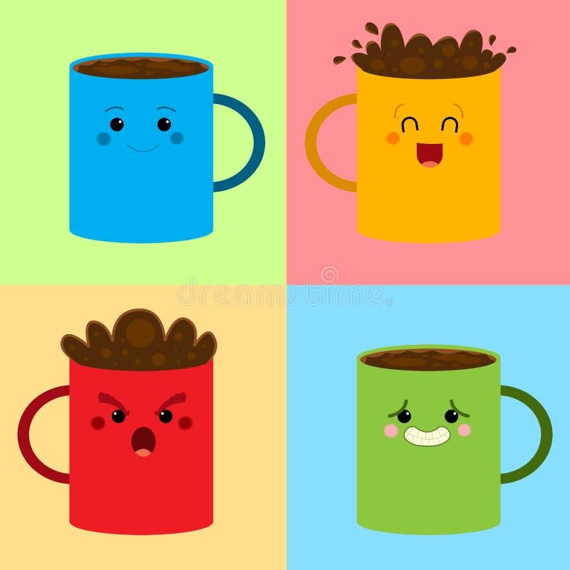 Download Coffee pattern stock illustration. Illustration of liquid - 28802322