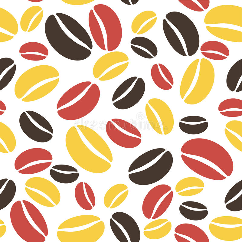 Download Coffee pattern seamless stock vector. Illustration of paper - 33091366