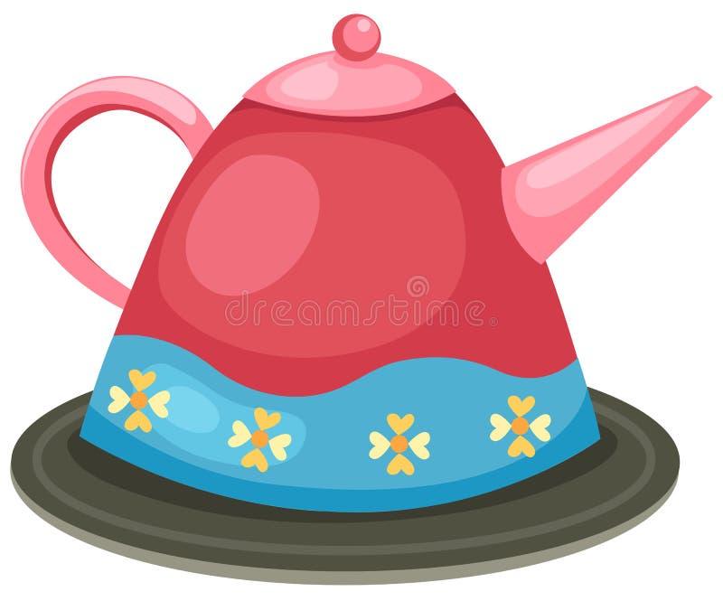 Coffee pot vector illustration