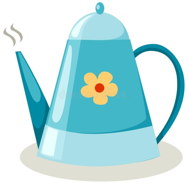 Download Coffee pot stock vector. Image of breakfast, cartoon - 15518456