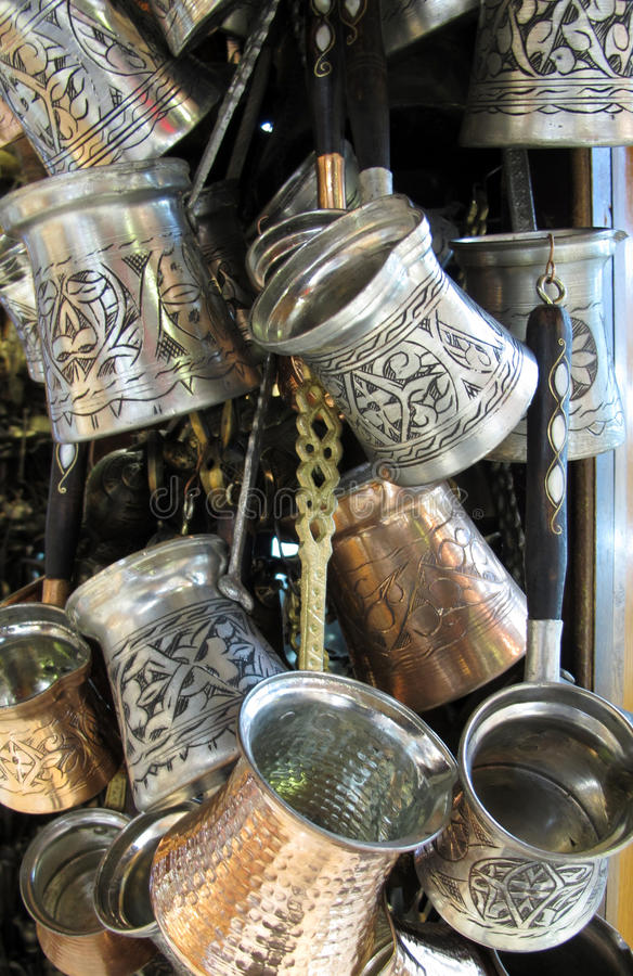 Download The coffee pot stock photo. Image of decorative, orient - 22697252