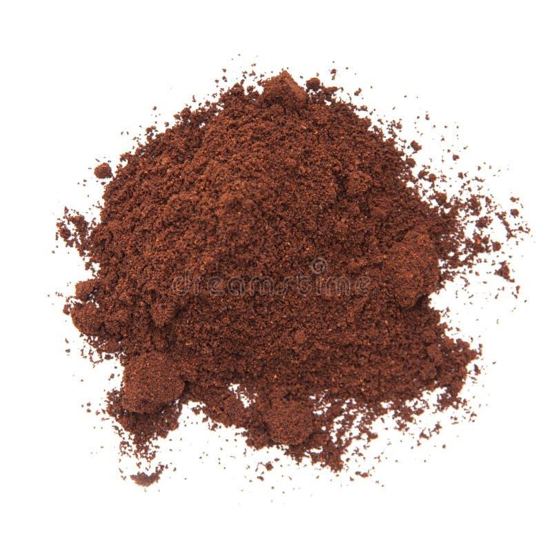Coffee powder royalty free stock photos